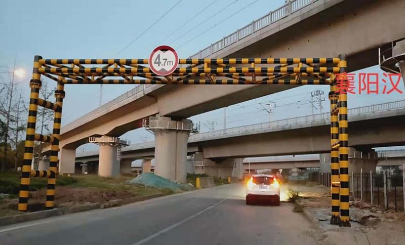 襄阳汉十高速限高架