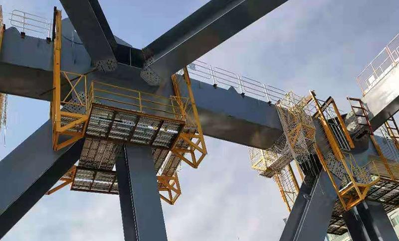 汉江七桥(桥梁附属钢结构工程)